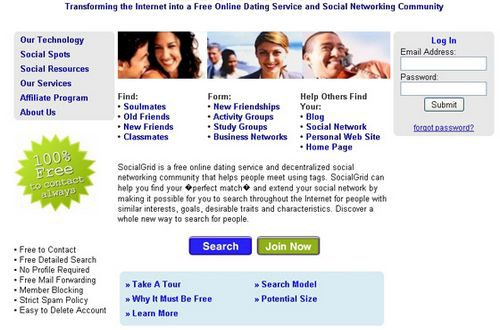 Find email on dating sites